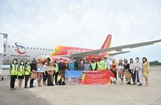 泰国越捷航空开通第十条国内航线  连接首都曼谷与那空是贪玛叻府