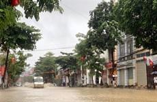 越南多地出现的暴雨天气造成人员和财产严重损失