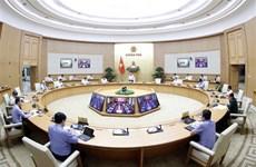 阮春福总理:丝毫不放松、不懈怠扑灭疫情  保障高中毕业考试安全进行