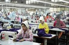 柬埔寨准备为制衣制鞋业制定五年发展策略