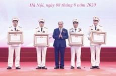 政府总理阮春福:公安力量应以为服务人民效果为竞赛目标