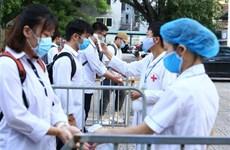 2020年高中毕业考试第一天 越南全国近86.7万名考生参加考试
