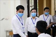 2020年高中毕业考试:越南教育与培训部领导视察胡志明市的考试组织工作