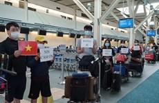 越南将在加拿大和韩国的300余名公民接回国