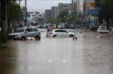 越南政府总理阮春福就韩国连日遭遇暴雨袭击向韩国总理丁世均致慰问电