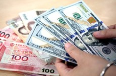 8月10日越盾对美元汇率中间价下调15越盾