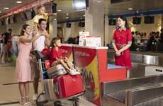 越捷航空推出免费托运15公斤行李的优惠