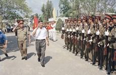 各国领导就原越共中央总书记黎可漂逝世向越南领导致唁电