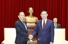 河内推进与柬埔寨各地投资合作