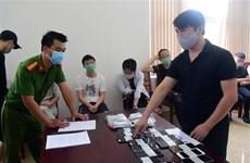 承天顺化省公安捣毁一网络赌博团伙 涉赌资350亿越南盾