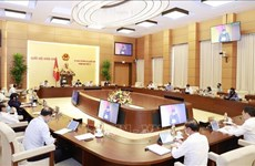 越南国会常委会第47次会议落幕