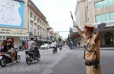 河内市公安局公布服务于原越共中央总书记黎可漂国葬的交通分流方案