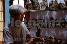 北宁省保留土偶制作手工艺业的最后一名艺人