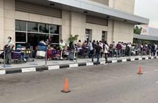 新冠肺炎疫情:将340名越南公民从安哥拉接回国