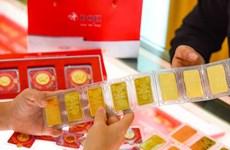 8月14日越南国内黄金价格超过5700万越盾