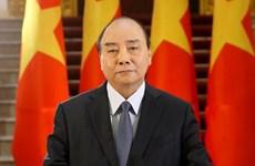 阮春福总理致电朝鲜内阁总理金德训慰问该国洪水灾害情况