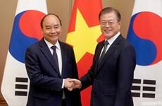 越南党和国家领导人就大韩民国国庆75周年致贺电