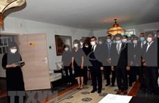 原越共中央总书记黎可漂的吊唁仪式在瑞士、比利时、德国和加拿大举行