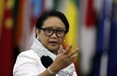 印尼呼吁在疫情情况下加强和平外交