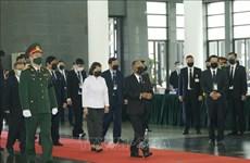 黎可漂同志国葬:新加坡、法国、莫桑比克等政党和国家领导致唁电
