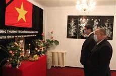 世界各国领导人就原越共中央总书记黎可漂逝世向越南党、国家领导人致唁电