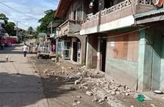 菲律宾地震致使至少1人死亡 多间房屋受损