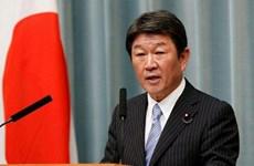 日本外务大臣对多国进行访问