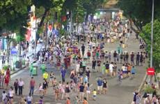 从8月21日起河内市还剑湖周边步行空间暂时关闭
