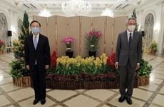 中国与东盟加强合作