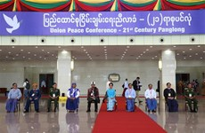 缅甸第四届21世纪彬龙会议闭幕;有关各方代表签署《联邦和平协议》第三部分