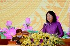 邓氏玉盛副主席:安沛省应革新奖励工作并提高其质量