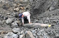 广治省安全地处理一枚227公斤的巨型炸弹
