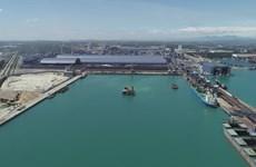 榕橘和发港货物吞吐量猛增