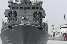 印尼两艘国产军舰下水
