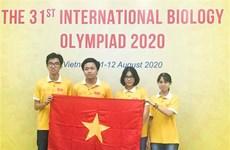 参加2020年国际生物学奥林匹克竞赛的越南全部学生都获奖
