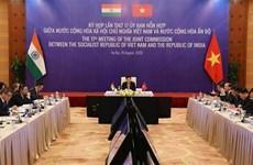 越印联合委员会第17次会议:力争在最早的时间内实现两国双边贸易额达150亿美元的目标