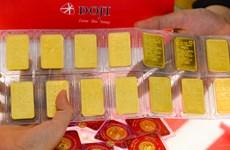 8月27日上午越南国内黄金价格上涨45万越盾一两