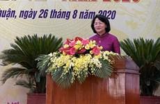 国家副主席邓氏玉盛:宁顺省应扩展爱国竞赛运动