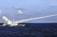 美国谴责中国在东海发射弹道导弹活动