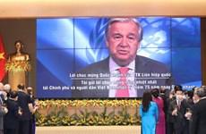 联合国秘书长安东尼奥·古特雷斯: 越南为支持可持续和平作出重要贡献