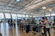 滞留在中东和非洲的140名越南公民安全回国