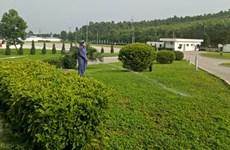永福省各工业区打造绿色生态家园