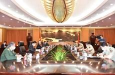 越南驻中国大使范星梅会见中国国务委员兼国防部长魏凤和