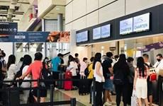 将在美国的近350名越南公民接回国
