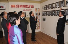越南国庆75周年:在加拿大胡志明主席相关书籍与实物陈列馆正式揭牌
