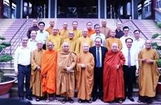 张和平副总理向越南佛教教会领导和佛教信徒致以盂兰盆节祝福