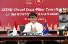 关于建立东盟身份认同的视频会议召开