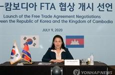 《韩国与柬埔寨自由贸易协定》进入第二轮谈判