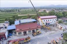 越南就中国山西省发生重大坍塌事故向中国致慰问电