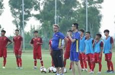 越南U19球队为2020亚足联U19足球锦标赛做好准备